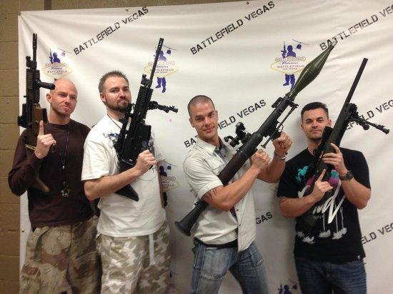Battlefield Vegas: Bachelor party