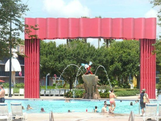 Disney's All-Star Movies Resort: Main pool
