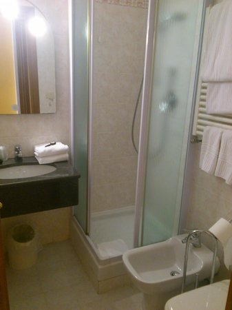 Max Hotel: bathroom