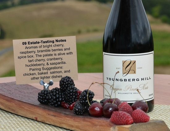 Youngberg Hill Vineyards & Inn: Perfect Pinot