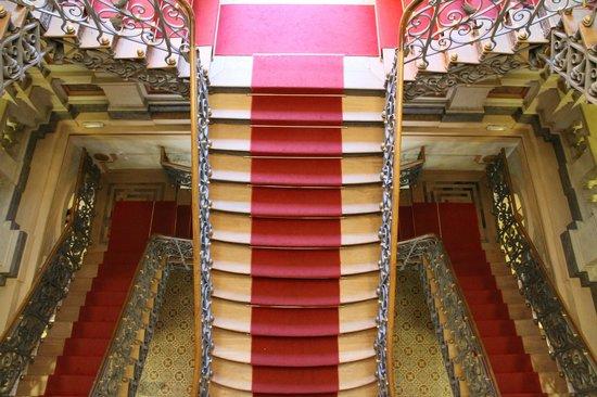 Memorial Minas Gerais - Vale: Escadaria do Palacete.