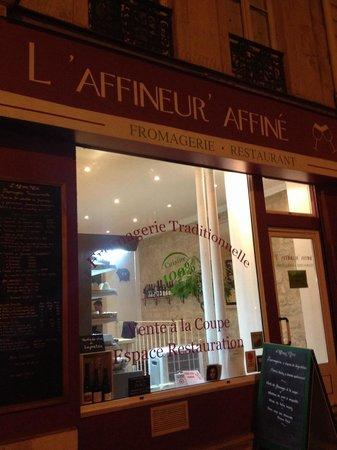 L'Affineur' Affiné : The outside