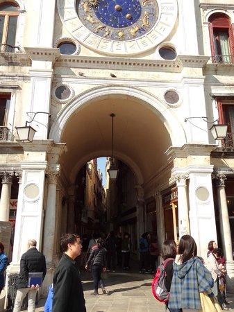 Torre dell'Orologio : Entrance