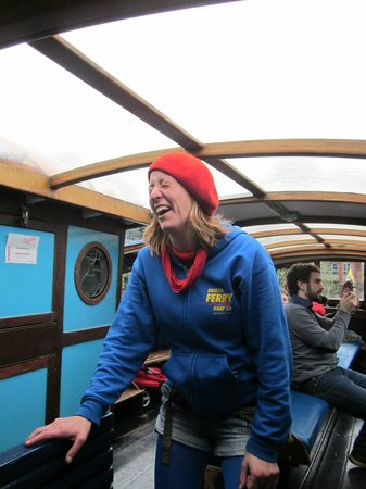 Bristol Ferry Boats: The lady crewperson
