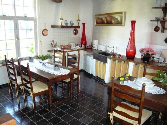 Auberge De Klasse : The dining room