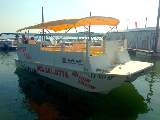 Fastrac Charters and Cruises: Mellow Yellow Water Taxi