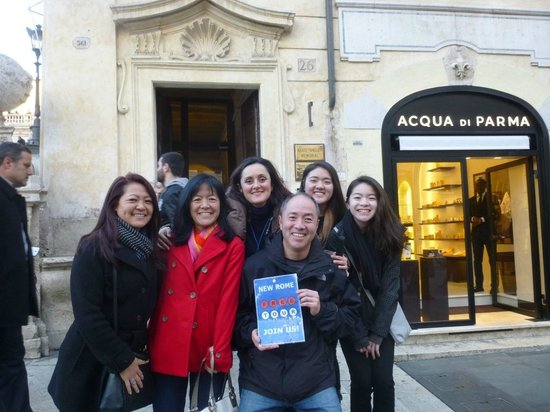 New Rome Free Tour: Our Wonderful tour guide, Flaminia!