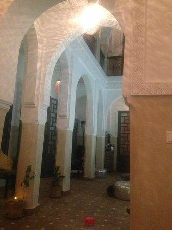 Riad Star: Dining area