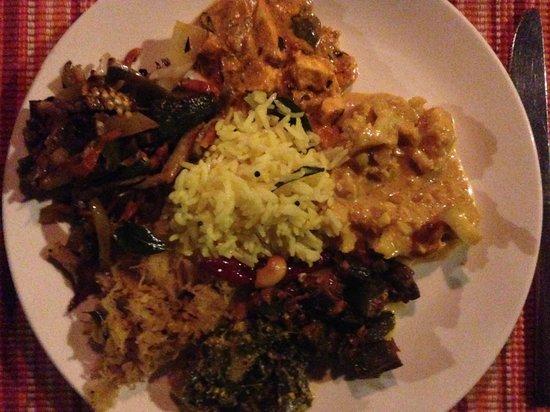 Somatheeram Ayurveda Resort: Ayurvedic meal