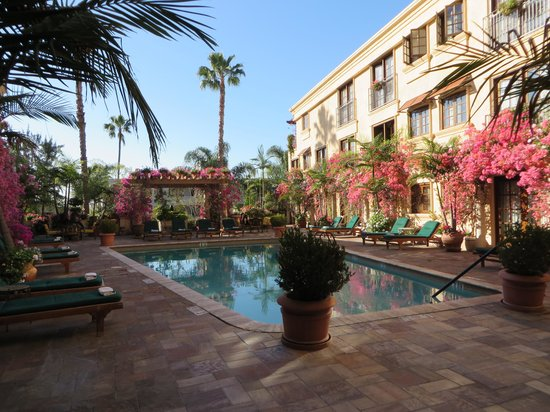 BEST WESTERN PLUS Sunset Plaza Hotel: Patio