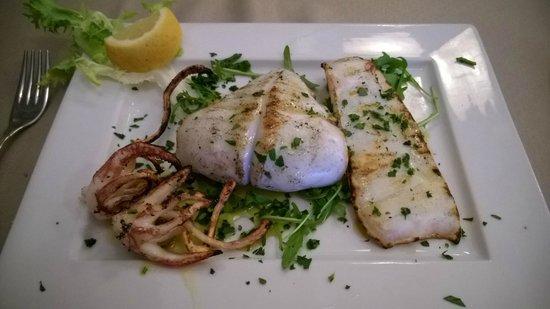 I clerici : grilled calamari