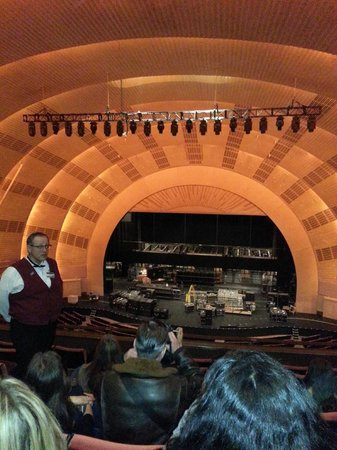 Radio City Music Hall Stage Door Tour: ...