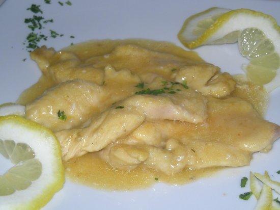 Ristorante Moonlight: Petto di pollo al limone