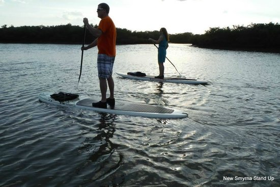 New Smyrna Stand Up: Sunset paddling cruise