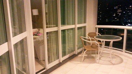 Sheraton Barra Rio de Janeiro Hotel: Sacada suíte junior