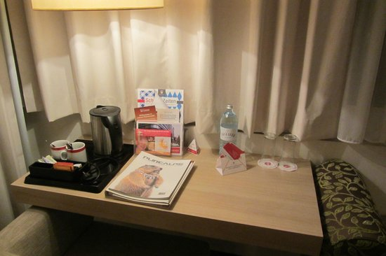 RAMADA Hotel Salzburg City Centre: gratis water en koffie / thee
