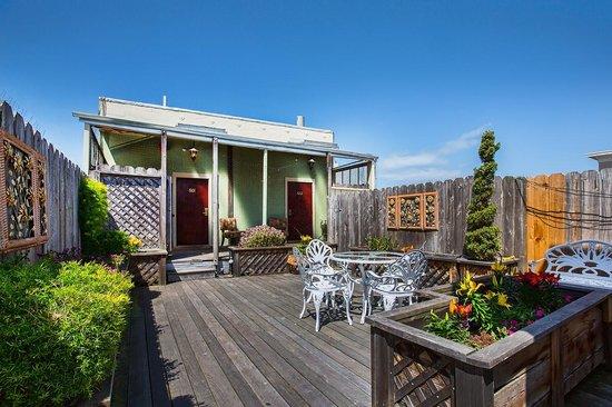 Nob Hill Hotel : Roof Top Garden