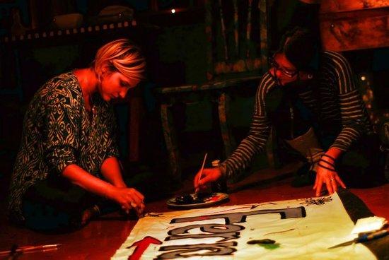 La Colina Lodge: Art Art Art