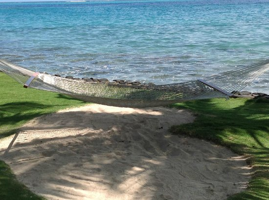 InterContinental Tahiti Resort & Spa: One of many hammocks throughout the grounds