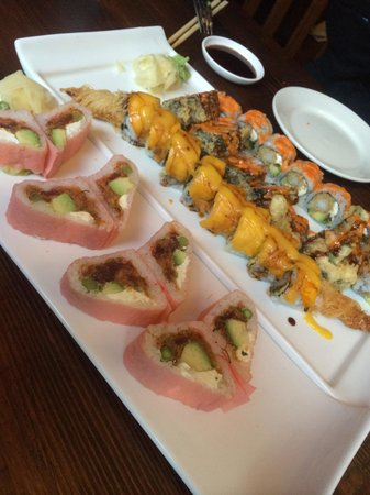 Lily Asian Restaurant : Sweetheart roll
