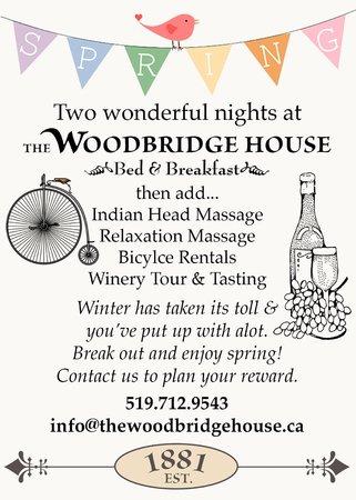The Woodbridge House: Spring Rewards