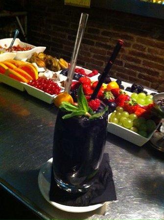 Cera 23: best blackberry mojito ever!