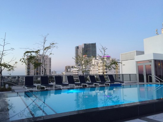 Gale South Beach: Rooftop pool