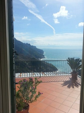 Ravello Rooms: View from apartment bedroom