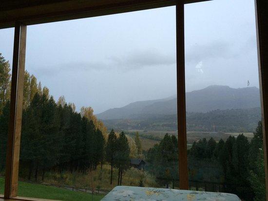 Casona DelAlto: A vista da sala de estar é espetacular!!!