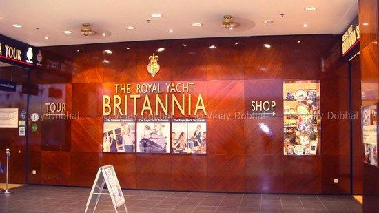HMY Britannia: The Entrance