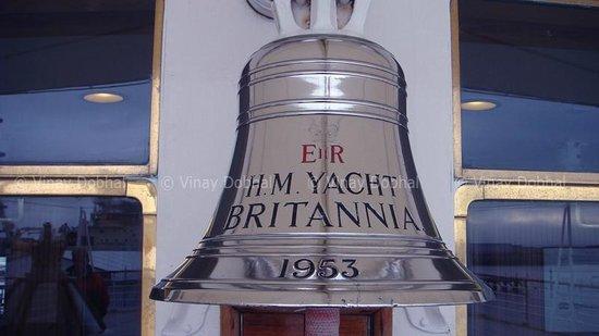 HMY Britannia: The royal bell