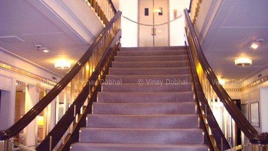 HMY Britannia: The Stairs