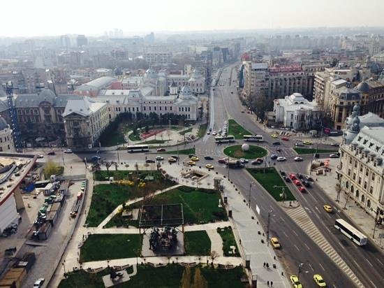 InterContinental Bucharest: vistas desde la habitación