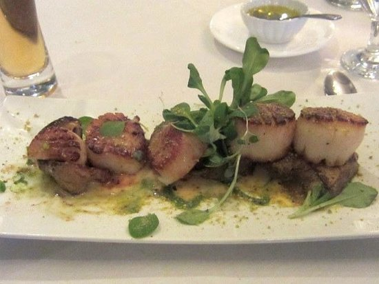 Osprey Point Restaurant : Scallops