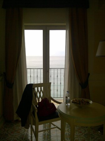 Lloyd's Baia Hotel: Balcone Junior Suite (Vista mare)