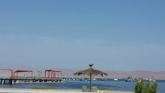 San Agustín Paracas: View from the swimming pool