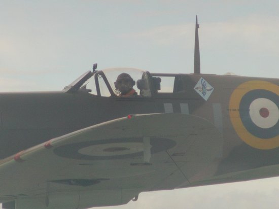 Hawkinge, UK: Fly with a Spitfire from nearby Lydd airport.