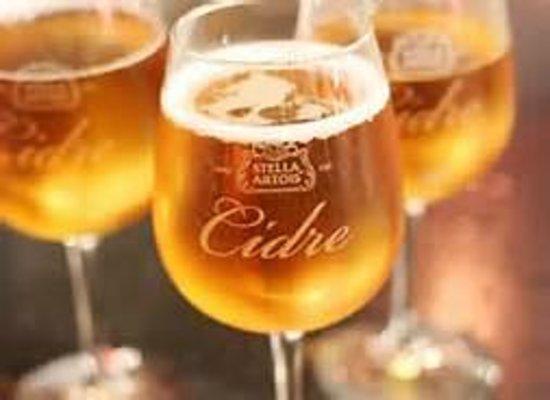 Torey's Restaurant & Bar: Stella Cidre on Tap