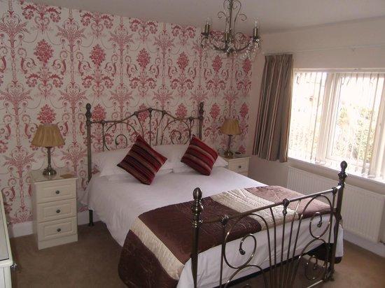 Cornerstones Deluxe Bed and Breakfast: Jacuzzi Room