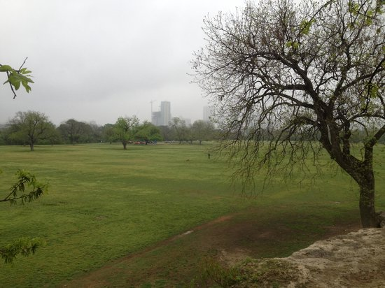 Zilker Metropolitan Park: From the top of the rocks