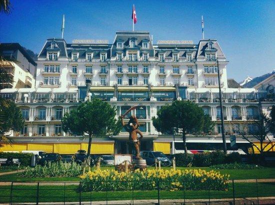 Grand Hotel Suisse Majestic: l' hotel
