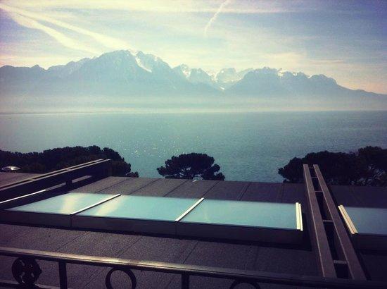 Grand Hotel Suisse Majestic: enocre une vue deouis notre chambre