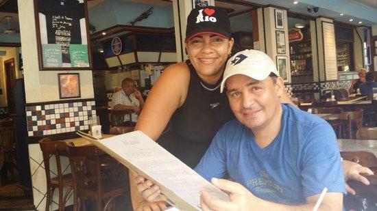 Bar e Restaurante Garota de Ipanema : TERRAZA