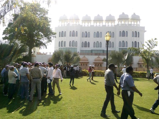 Radisson Blu Udaipur Palace Resort & Spa: The play ground