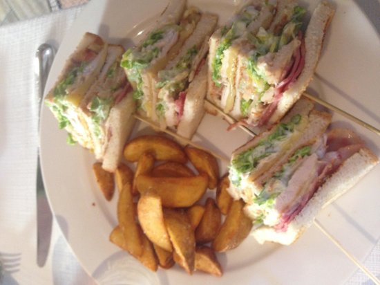 Restaurante Satyricon: Club sandwich