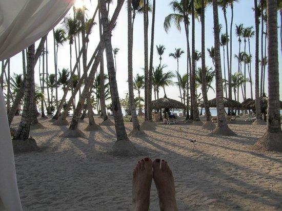 Luxury Bahia Principe Bouganville: beach area