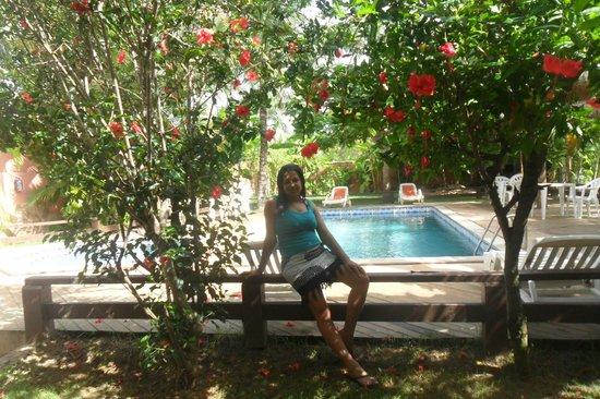 Pousada Alcobara: piscina de frente ao quarto