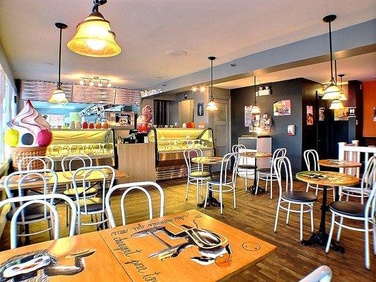 Bar Laitier La Lichette : intérieur
