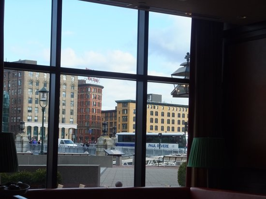Smith & Wollensky: view to outside