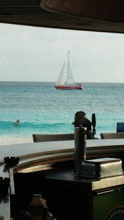 Divi Aruba: view from the bar